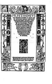 Peritissimi viri F. Francisci Leuchetti de Brixia ... In Io. Duns Scot. sup[er] secu[n]do sente[n]tiaru[m] clarissima co[m]mentaria subtilium diffi. perpulchre solutiones ... feliciter incipiunt ...