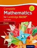 Complete Mathematics for Cambridge IGCSE   PDF