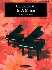 Concerto #1 in A Minor: Intermediate Piano Duet