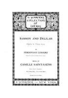 Samson and Delilah PDF