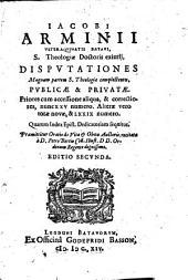Disputationes publicae et privatae