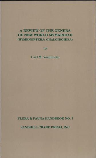 Review of the Genera of New World Mymaridae  Hymenoptera PDF