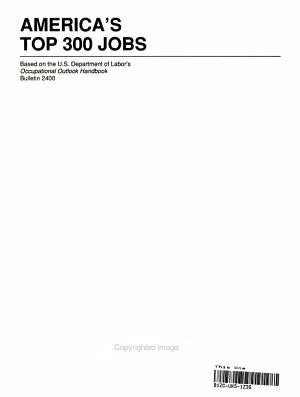 America s Top Three Hundred Jobs PDF