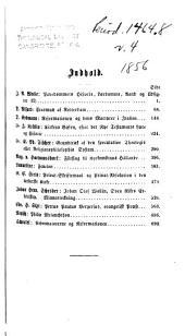 Nyt tidsskrift for udenlandsk theologisk litteratur: Bind 4
