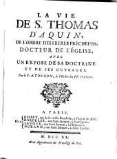 La vie de saint Thomas d'Aquin