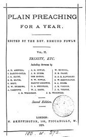 Plain preaching for a year, ed. by E. Fowle: Volume 2