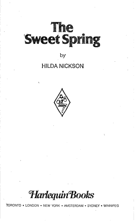 The Sweet Spring PDF