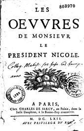 Les oeuvres de monsieur le president Nicole