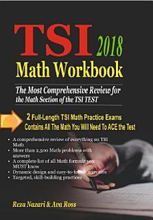 TSI Math Workbook 2018 Book