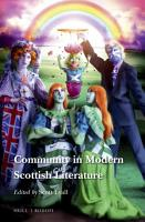 Community in Modern Scottish Literature PDF