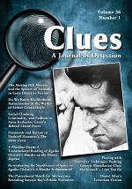 Clues: A Journal of Detection, Vol. 36, No. 1 (Spring 2018)