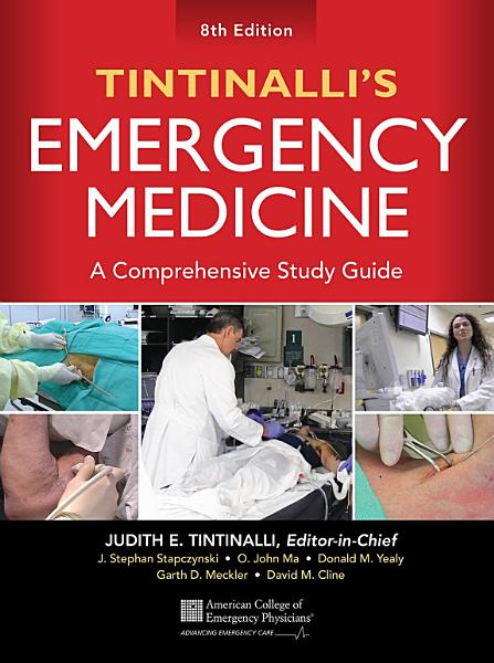 Tintinalli S Emergency Medicine A Comprehensive Study Guide 8th Edition