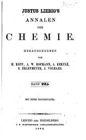 Justus Liebigs Annalen der Chemie: Bände 225-226