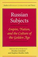 Russian Subjects PDF