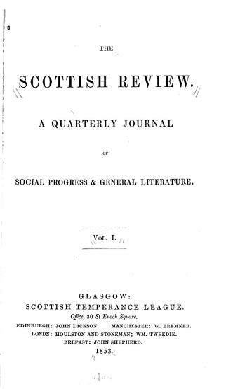 The Scottish Review PDF