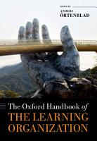 The Oxford Handbook of the Learning Organization PDF