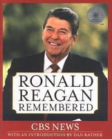 Ronald Reagan Remembered PDF
