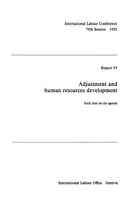 Adjustment and Human Resources Development PDF