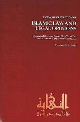 Concise Description Of Islamic Law And Legal Opinions Book PDF