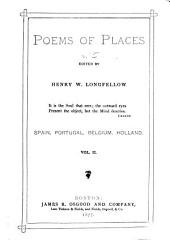 Poems of Places: Spain, Portugal, Belgium, and Holland