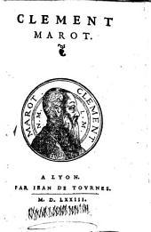 ¬Les Traductions de Clément Marot