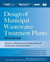 Design of Municipal Wastewater Treatment Plants MOP 8  Fifth Edition PDF
