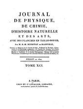 Journal de physique, de chimie, d'histoire naturelle et des arts: Volume 91