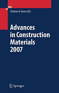 Advances in Construction Materials 2007 PDF