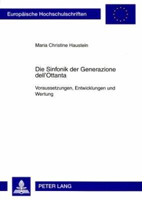 Die Sinfonik der Generazione dell Ottanta PDF