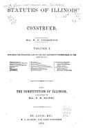Statutes of Illinois Construed PDF