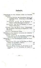 Justus Liebigs Annalen der Chemie: Band 269