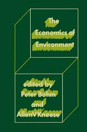The Economics of Environment: Papers from Four Nations