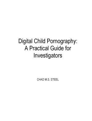 Digital Child Pornography PDF