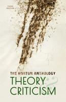 The Norton Anthology Of Theory And Criticism