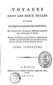 Voyages dans les Deux Siciles et dans quelques parties des Apennins: Volume5
