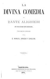 La divina comedia con notas de Paolo Costa trad. al coslettsuo