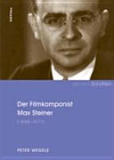 Der Filmkomponist Max Steiner  1888 1971  PDF