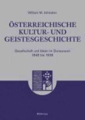 sterreichische Kultur  und Geistesgeschichte PDF