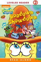Hoedown Showdown Read-Along Reader (SpongeBob_SquarePants)