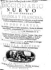 Diccionario nuevo de las lenguas española y francesa: en dos partes
