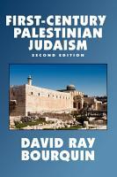 First Century Palestinian Judaism PDF