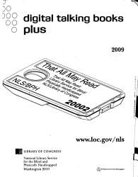 Digital Talking Books Plus Book PDF