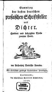 Annalen der Brittischen Geschichte des Jahrs ...: Als eine Fortsetzung des Werks England und Italien. 1788, Band 1