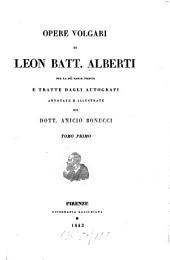 Opere volgari: Volume 1