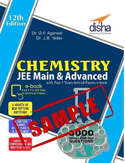 SAMPLE  Challenger Chemistry for JEE Main   Advanced with past 5 years Solved Papers ebook  12th edition  PDF