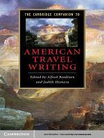 The Cambridge Companion to American Travel Writing