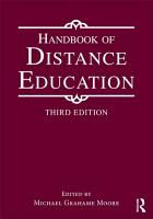 Handbook of Distance Education PDF