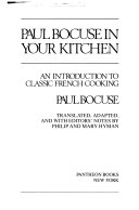 Paul Bocuse In Your Kitchen Book PDF