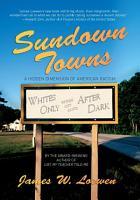 Sundown Towns PDF