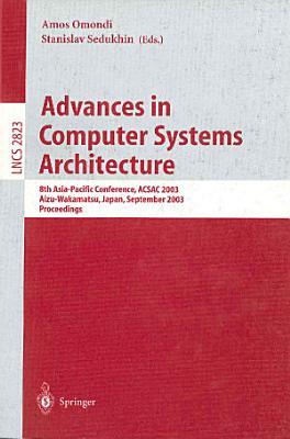 Advances in Computer Systems Architecture PDF